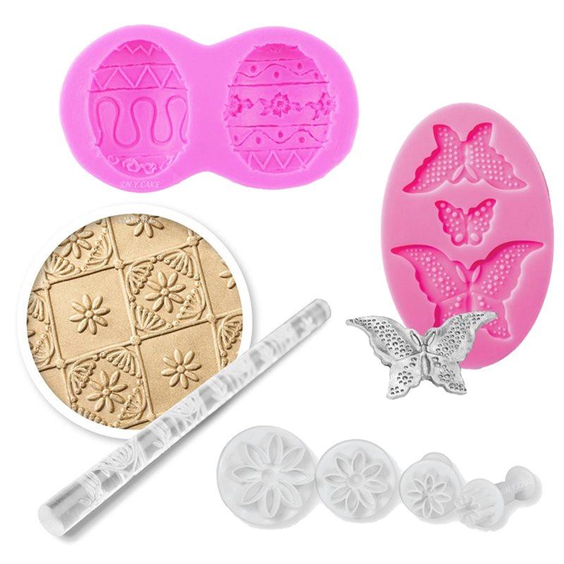 Easter Fondant & Gumpaste Molds