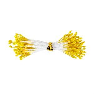 Small Metallic Yellow Flower Stamens