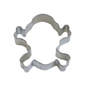 Skull & Cross Bones Cookie Cutter 3 1 / 2 Inch