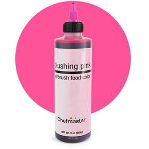 Blushing Pink Airbrush Color 9 Ounce By Chefmaster