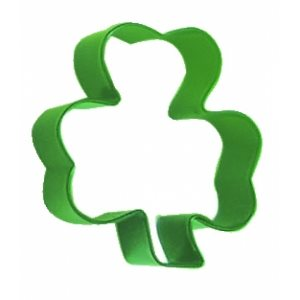 Shamrock Cookie Cutter Poly Resin 3 Inch