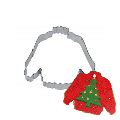 Sweater Cookie Cutter 4 Inch