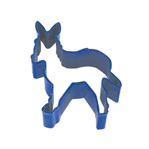 Donkey Cookie Cutter Poly Resin 3 1 / 2 Inch