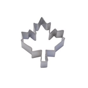 Canadian Maple Leaf Cookie Cutter 3 Inch