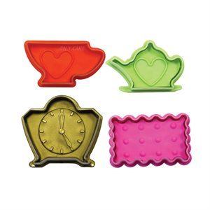 Tea Time Fondant and Pie Cutter