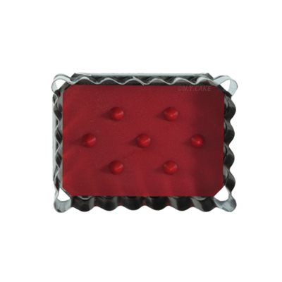 Rectangle Linzer Cookie Cutter