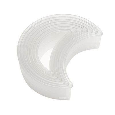 Plain Moon Cookie and Pastry Cutter