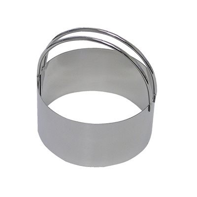 Plain Round Biscuit Cookie Cutter Stainless Steel 3 1 4 Inch