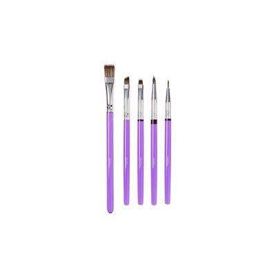 Decorating Brush Set- 5 pcs
