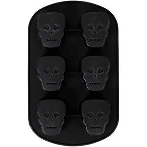 Skull Mini Cake Pan - 6 Cavity