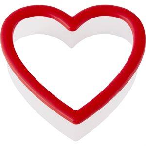 Comfort Grip Heart Cookie Cutter