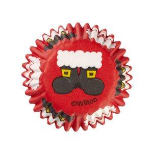 Santa Mini Baking Cup 100 pcs
