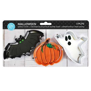 Halloween Color Cookie Cutter Set 3pc (Carded)