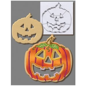 Pumpkin Cookie Cutter 7 1 / 2 Inch
