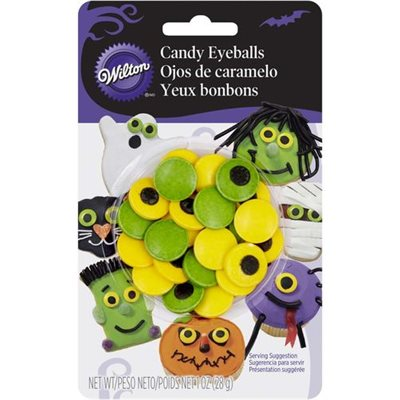 Spooky Large Candy Eyeballs By Wilton
