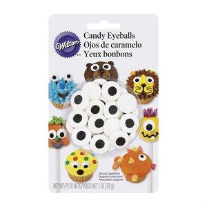 Large Candy Eyeballs By Wilton