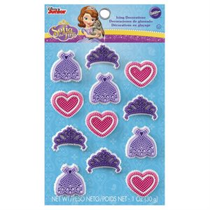 Sofia the First Icing Decorations By Wilton