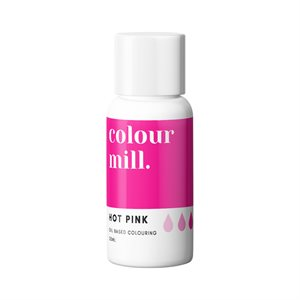 Hot Pink Oil-Based Coloring - 20mL By Colour Mill