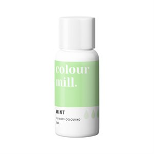 Mint Oil-Based Coloring - 20mL By Colour Mill