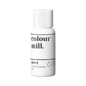 White Oil-Based Coloring - 20mL By Colour Mill