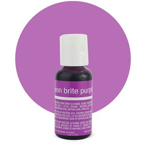 Neon Purple Liqua-Gel Color - .70 ounce By Chefmaster
