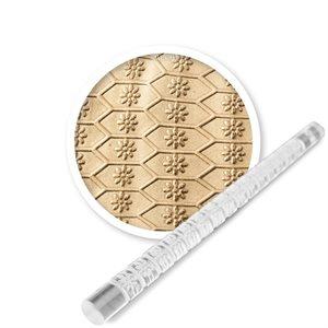 Framed Daisy Mini Impression Rolling Pin