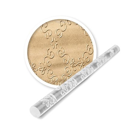 Framed Swirl Mini Impression Rolling Pin