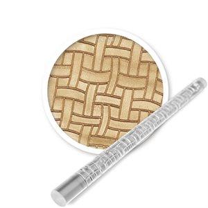 Fancy Basketweave Mini Impression Rolling Pin