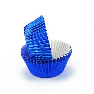 Blue Foil Standard Cupcake Baking Cup Liner