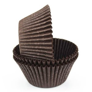 Brown Greaseproof Jumbo Cupcake Baking Cup Liner