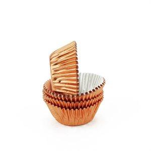 Copper Foil Mini Cupcake Baking Cup Liner