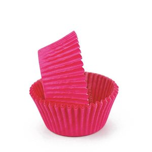 Pink Glassine Standard Cupcake Baking Cup Liner