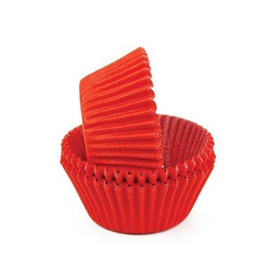 Red Glassine Standard Cupcake Baking Cup Liner