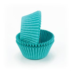 Teal Greaseprof  Standard Cupcake Baking Cup Liner