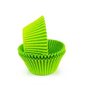 Lime Green Glassine Standard Cupcake Baking Cup Liner