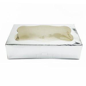 Silver Cookie Box 1 Pound