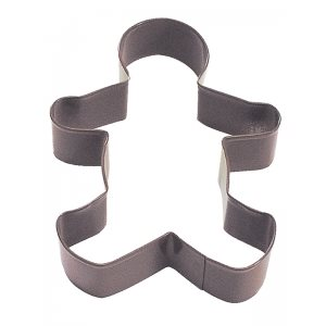 Gingerbread Boy Cookie Cutter Poly Resin 5 Inch