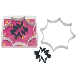 Spider Web Cookie Cutter Set Poly Resin 2 Pcs.
