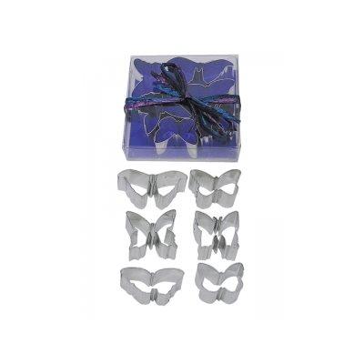 Mini Butterfly Cookie Cutter Set 6 Pcs.