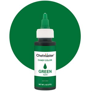 Green Liquid Candy Color - 2 ounce By Chefmaster