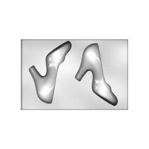 "3D High Heel Shoe Chocolate Candy Mold 8"""