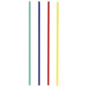 Plastic Primary Colors Lollipop Cake Pop Sticks 6 Inch Long