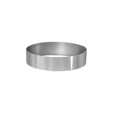 Round Cake Ring Stainless Steel 6 x 2 Inch