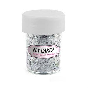Edible Glitter Metallic Silver 1 / 4 Ounce