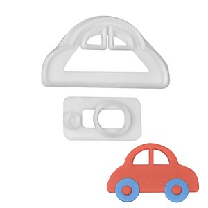 Cute Car Cutter Set By FMM
