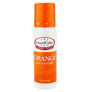 Orange Food Color Spray 2.75 Ounce By Americolor