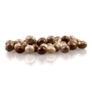 Gold Chocolate Pearls 4mm