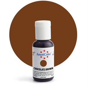Chocolate Brown Gel Paste  .75 ounce By Americolor
