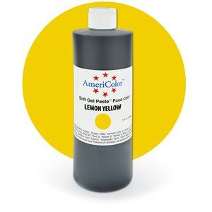 Lemon Yellow Gel Paste 13.5  ounces By Americolor