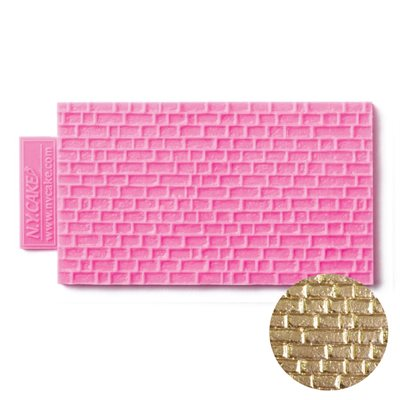 Brick Fondant Mini Impression Mat